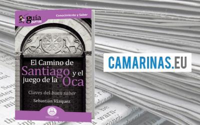 Camariñas.eu ha reseñado este libro sobre el Camino de Santiago